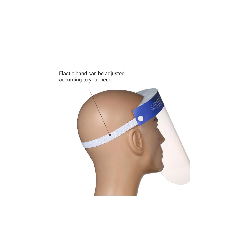 Face shield gezichtsbescherming coronavirus
