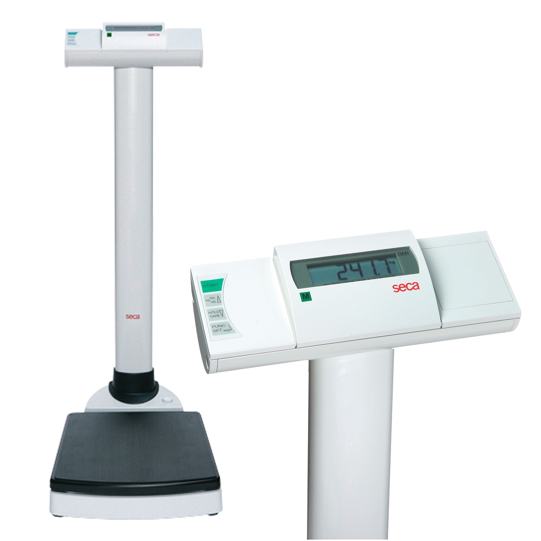 Seca 704 kolomweegschaal digitaal + bmi draadloos - 300 kg