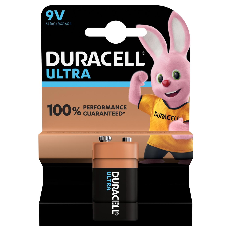 Duracell ultra power alkaline batterij - 9V