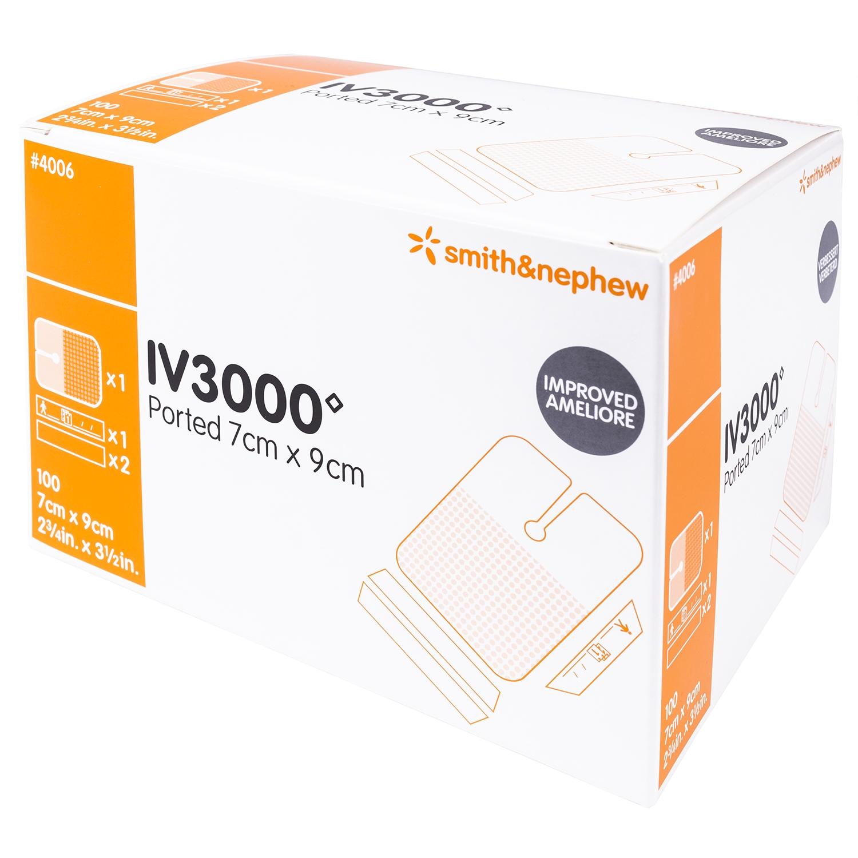 Opsite IV-3000 1h steriel - 7 x 9 cm (100 st)