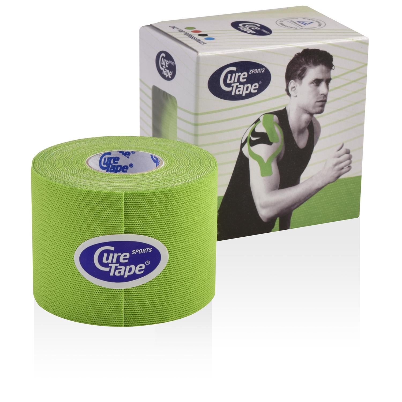 CureTape Sports kinesiotape - 5 cm x 5 m - groen