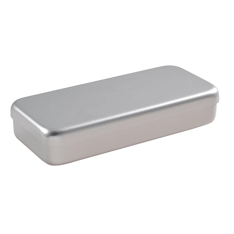 Instrumentendoos aluminium