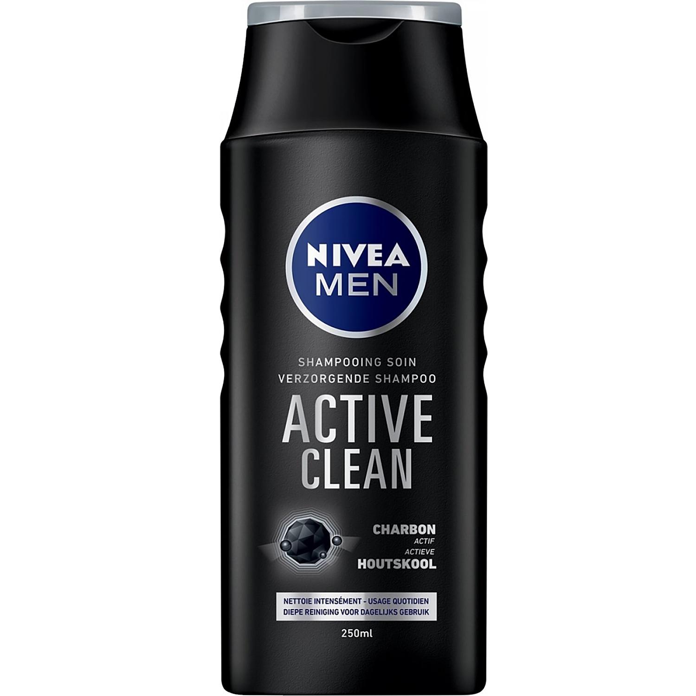 Nivea men shampoo active clean - 250 ml (einde voorraad)