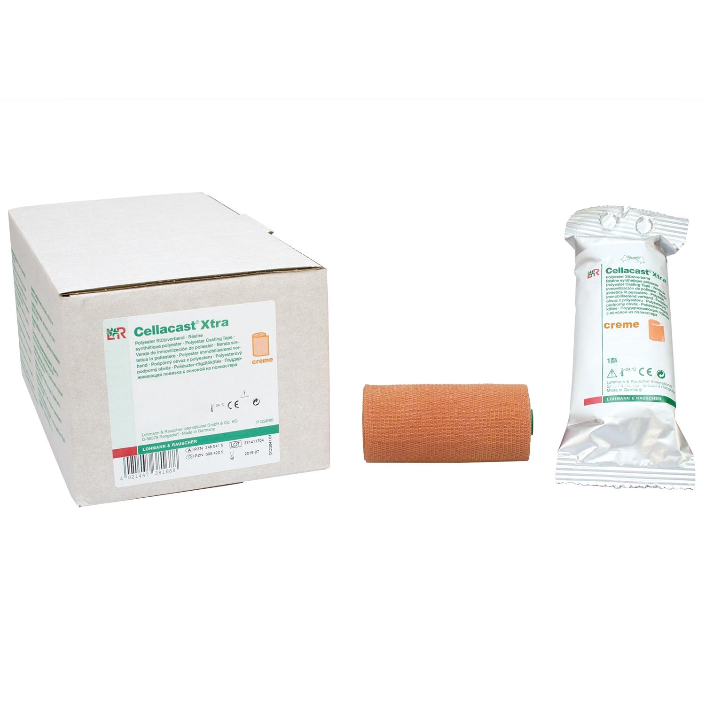 Cellacast xtra windel - rol 3,6 m (10 st) - Creme