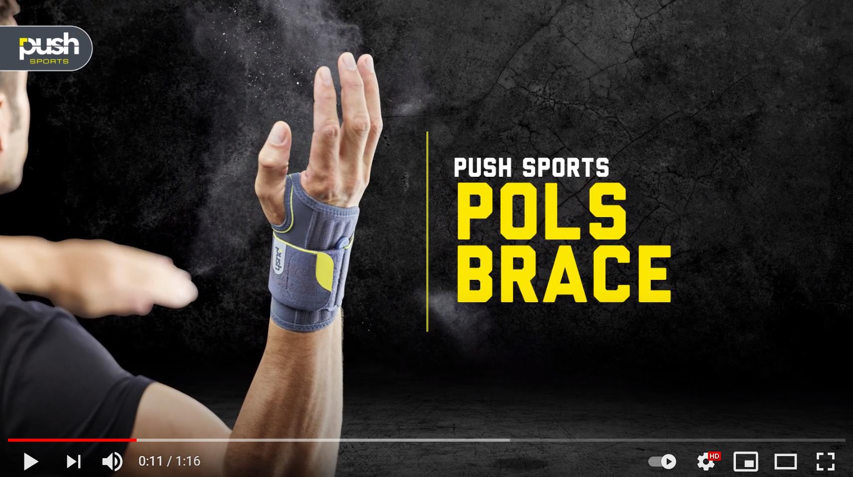 Push Sports Polsbrace S Rechts