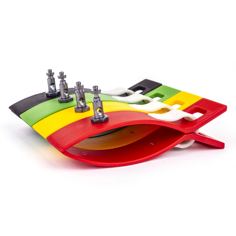 uuu ECG klemmen voor volwassenen in 4 kleuren (4 st)