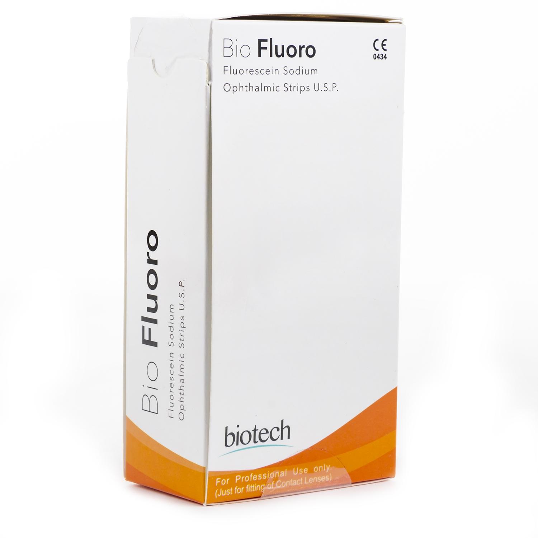 Fluoro Fluorescein Sodium Strips (100 st)