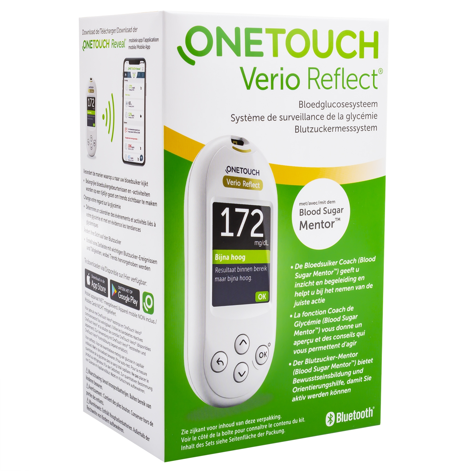 One touch verio reflect glucometer startkit